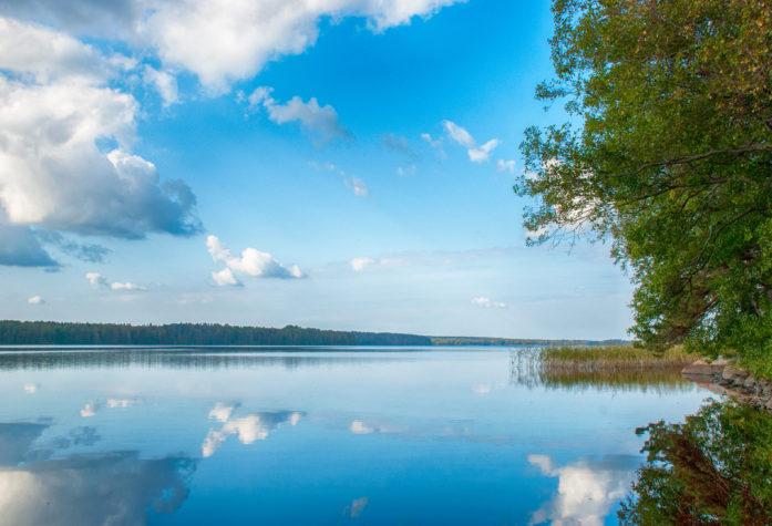 Вид на озеро Пионерское